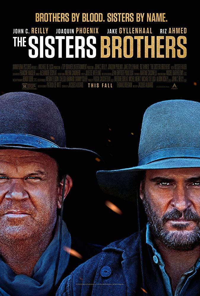 """Filmas """"Broliai Sistersai"""" / """"The Sisters Brothers"""" (2018)"""