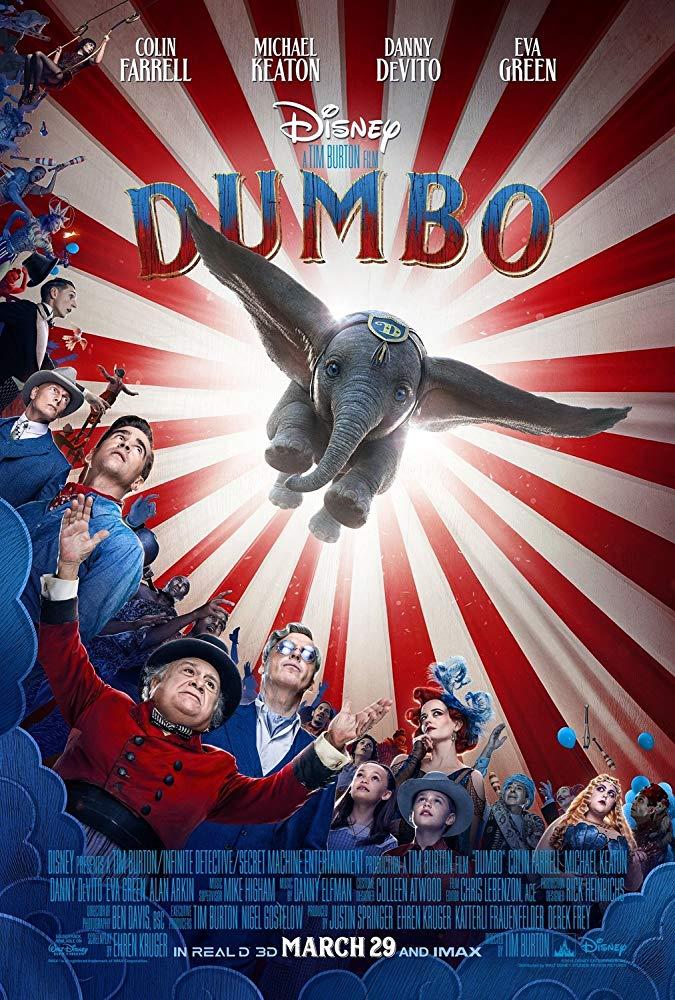 """Filmas """"Dambis"""" / """"Dumbo"""" (2019)"""