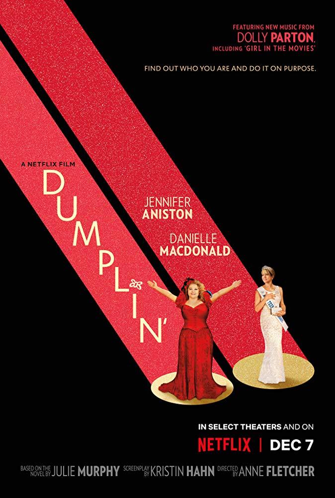 """Filmas """"Koldūnėlis"""" / """"Dumplin'"""" (2018)"""