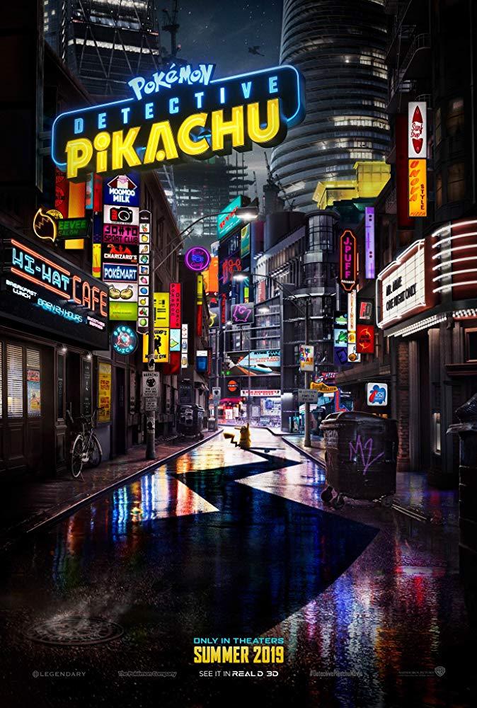 """Filmas """"POKEMONAI: Detektyvas Pikačiu"""" / """"POKÉMON Detective Pikachu"""" (2019)"""