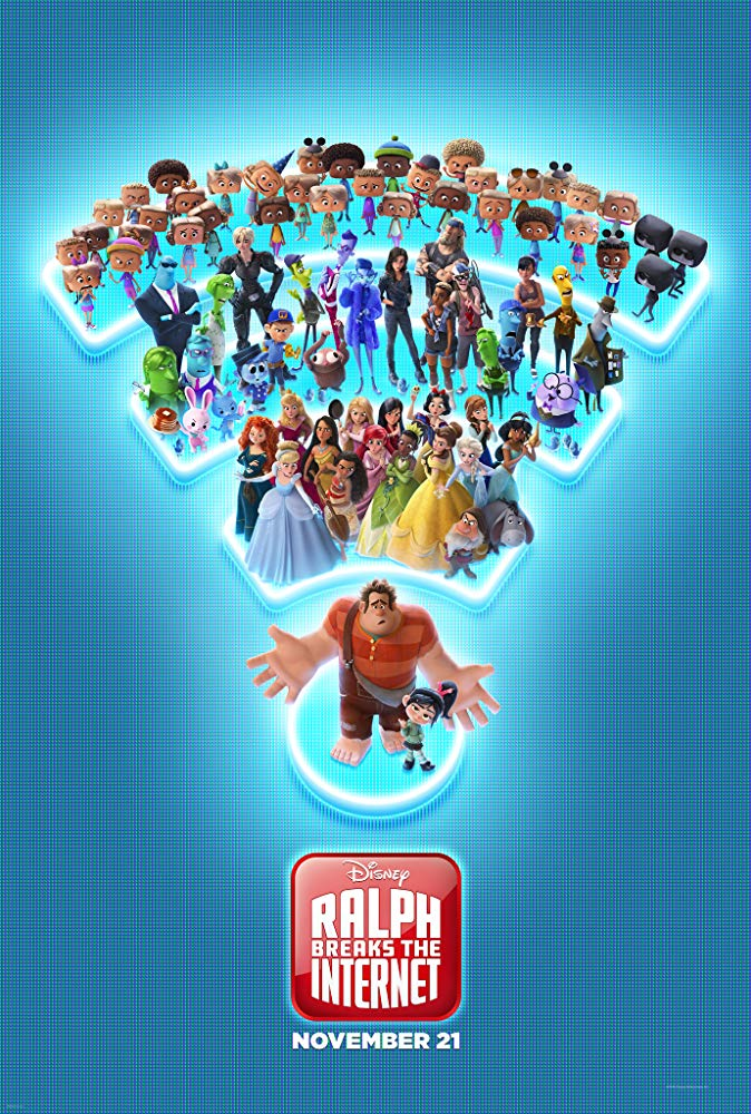"Filmas ""Ralfas Griovėjas 2"" / ""Ralph Breaks the Internet"" (2018)"