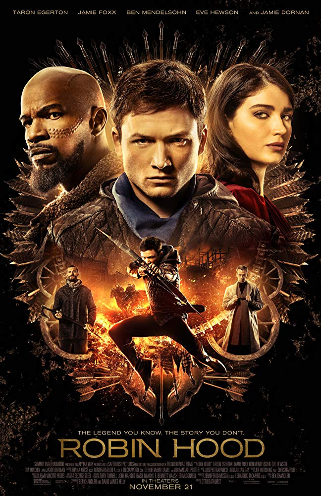 "Filmas ""Robinas Hudas"" / ""Robin Hood"" (2018)"