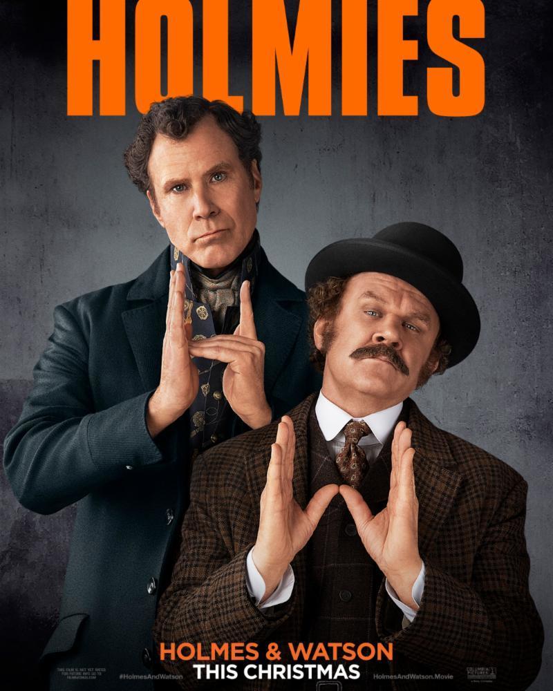 """Filmas """"Šerlokas Holmsas ir daktaras Vatsonas"""" / """"Holmes & Watson"""" (2018)"""