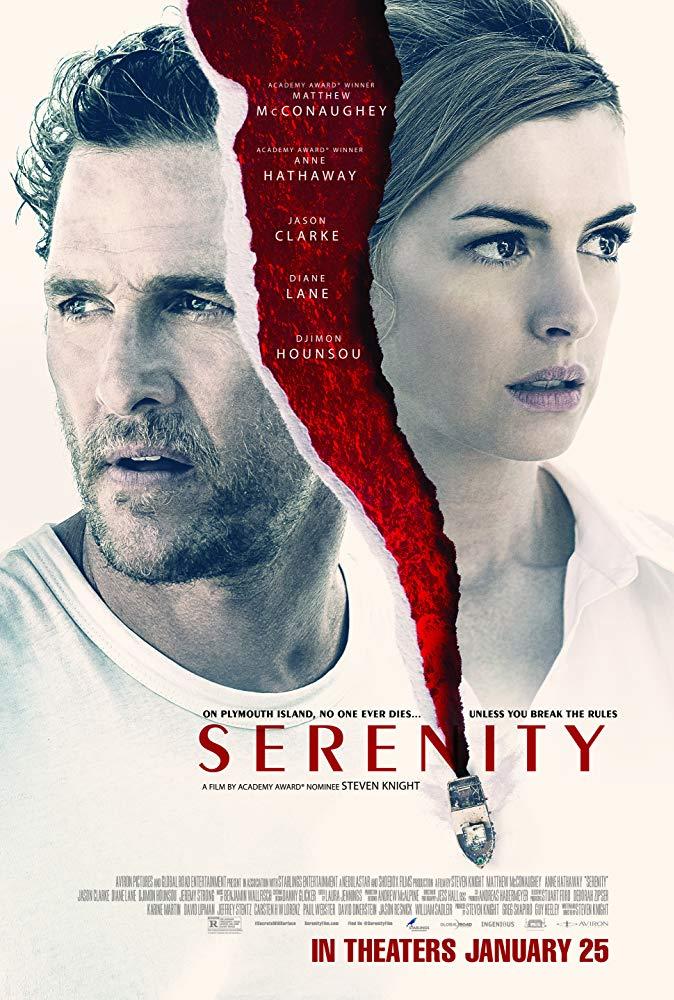 """Filmas """"Apgaulinga ramybė"""" / """"Serenity"""" (2019)"""