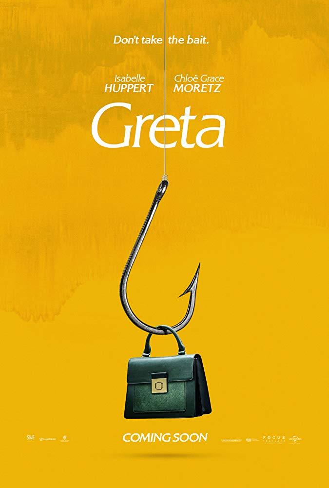 """Filmas """"Greta"""" / """"Greta"""" (2019)"""