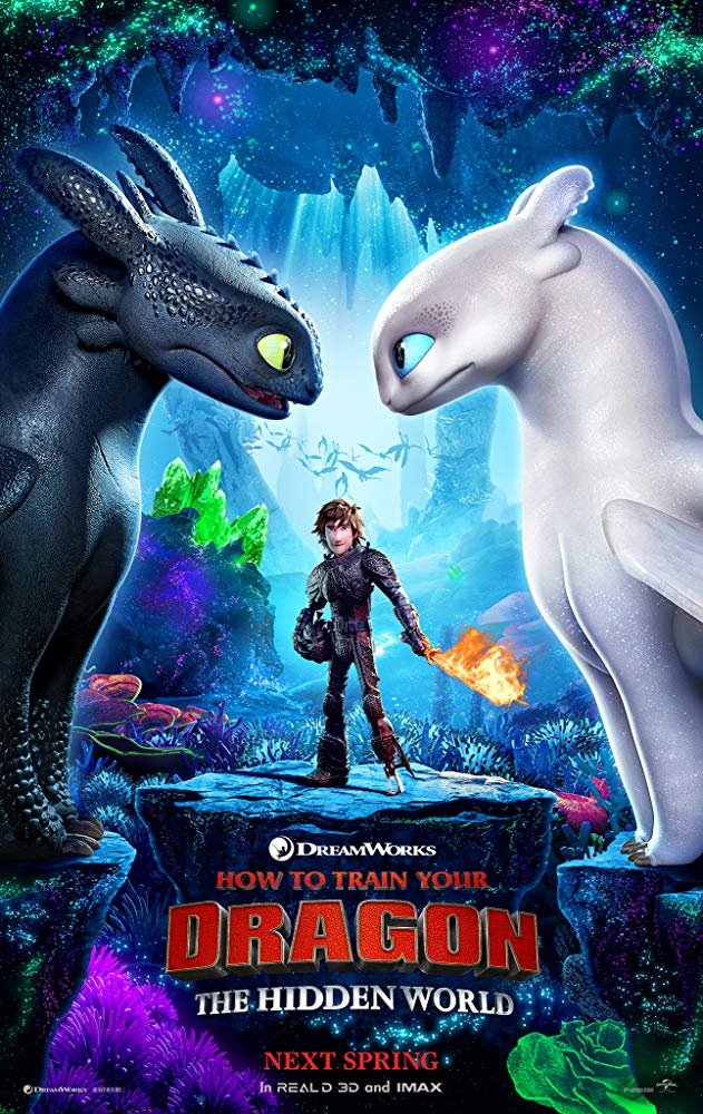 "Filmas ""Kaip prisijaukinti slibiną 3"" / ""How to Train Your Dragon: The Hidden World"" (2019)"
