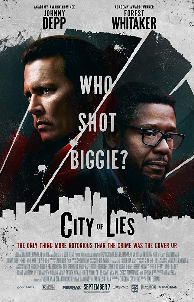 "Filmas ""Melo miestas"" / ""City of Lies"" (2019)"
