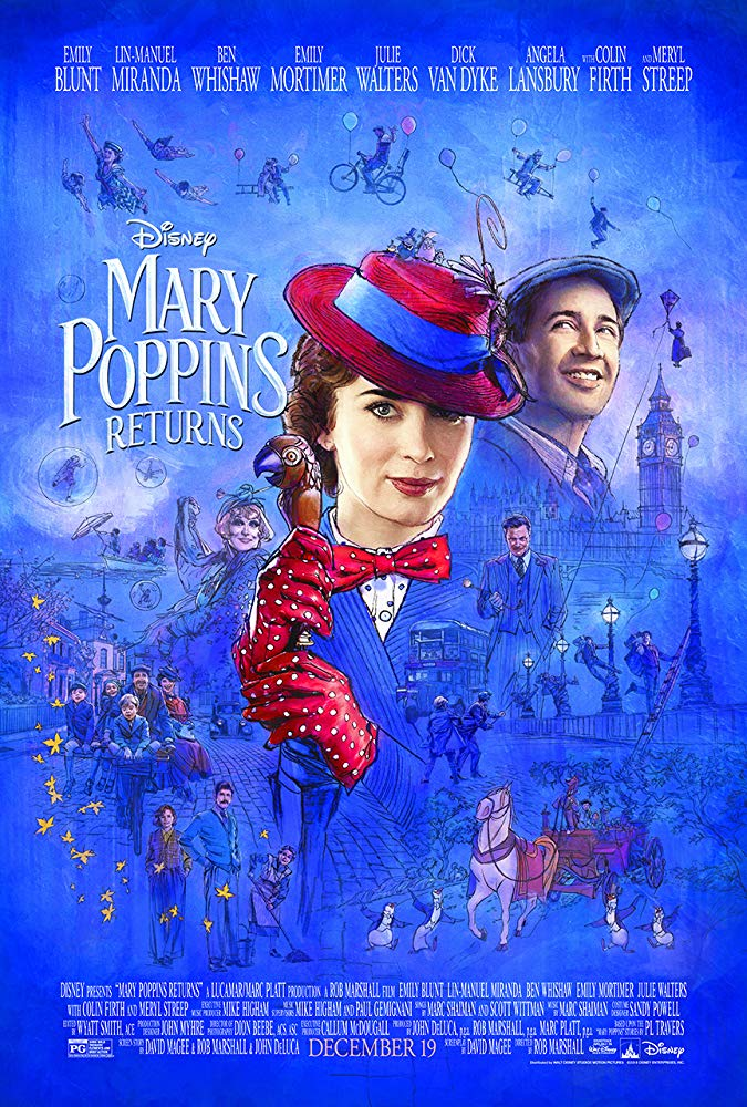 """Filmas """"Merė Popins sugrįžta"""" / """"Mary Poppins Returns"""" (2018)"""