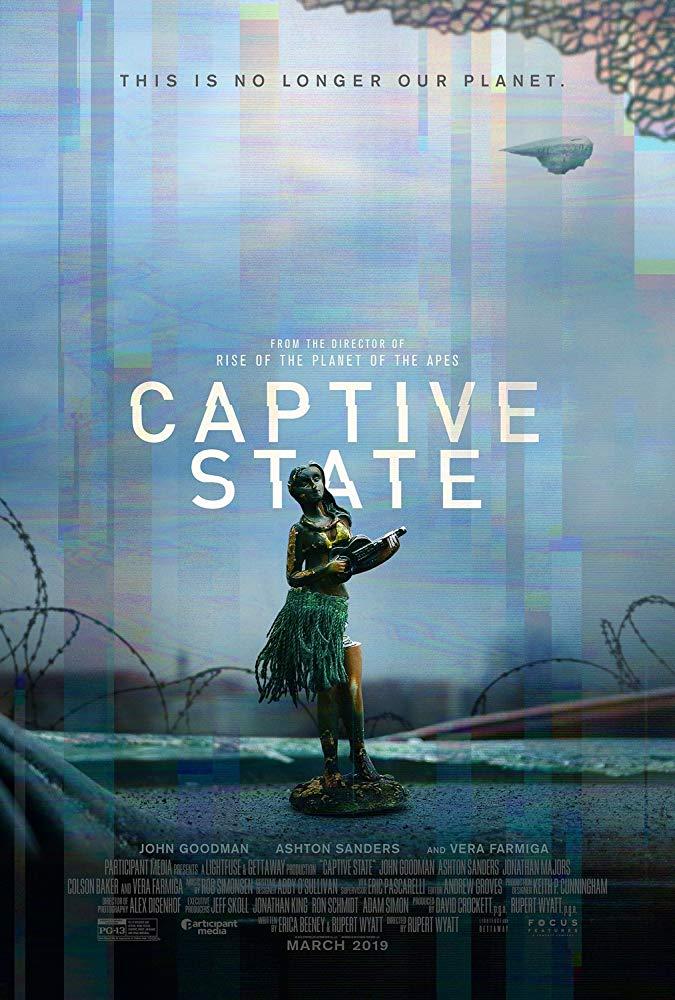 "Filmas ""Nelaisvėje"" / ""Captive State"" (2019)"