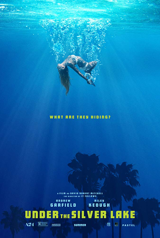 "Filmas ""Po sidabriniu ežeru"" / ""Under the Silver Lake"" (2019)"