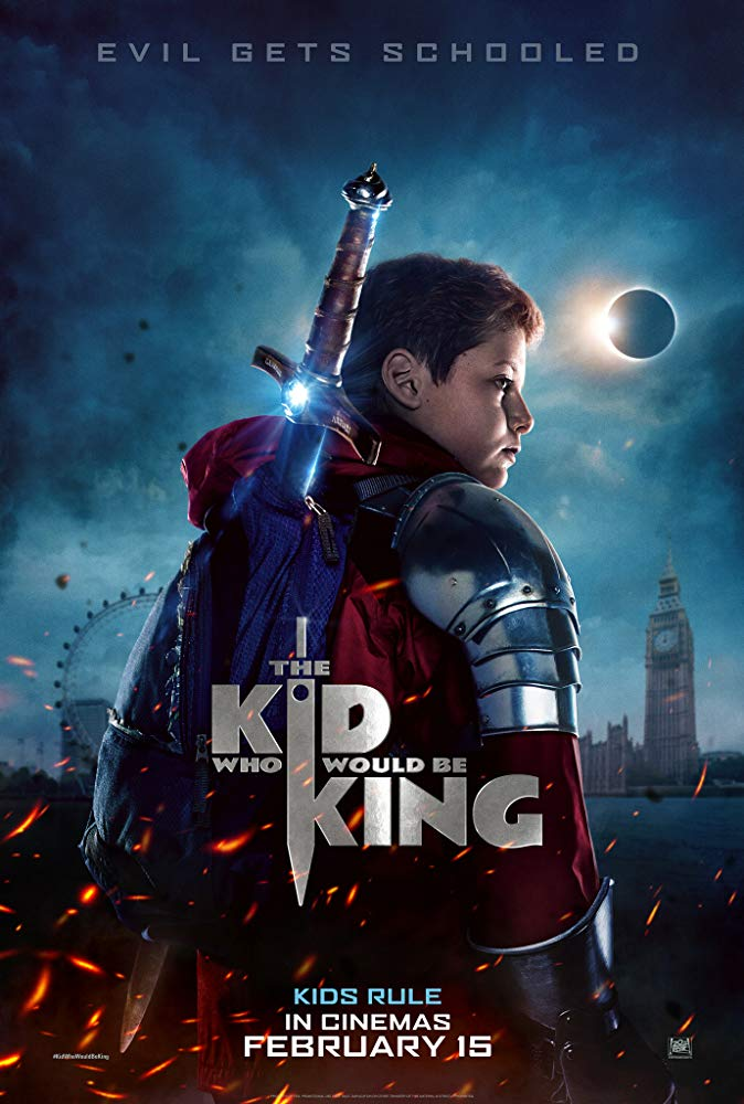 "Filmas ""Vaikis, kuris taps karaliumi"" / ""The Kid Who Would Be King"" (2019)"