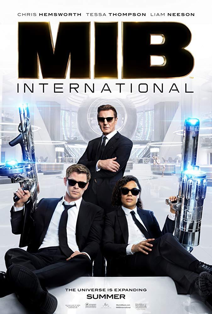 """Filmas """"Vyrai juodais drabužiais 4"""" / """"Men in Black: International"""" (2019)"""