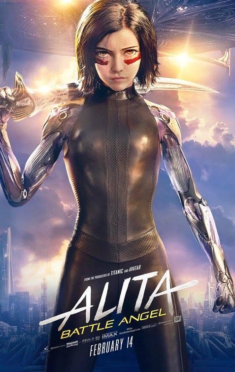 """Filmas """"Alita: kovos angelas"""" / """"Alita: Battle Angel"""" (2019)"""