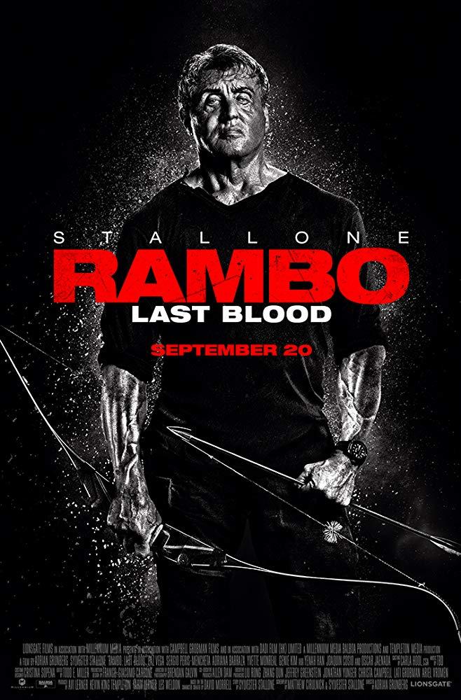"""Filmas """"Rembo 5: Paskutinis kraujas"""" / """"Rambo: Last Blood"""" (2019)"""