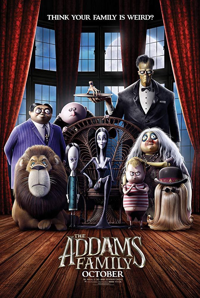 """Filmas """"Adamsų šeimynėlė"""" / """"The Addams Family"""" (2019)"""