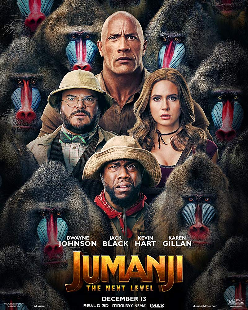 "Filmas ""Džiumandži: Kitas lygis"" / ""Jumanji: The Next Level"" (2019)"