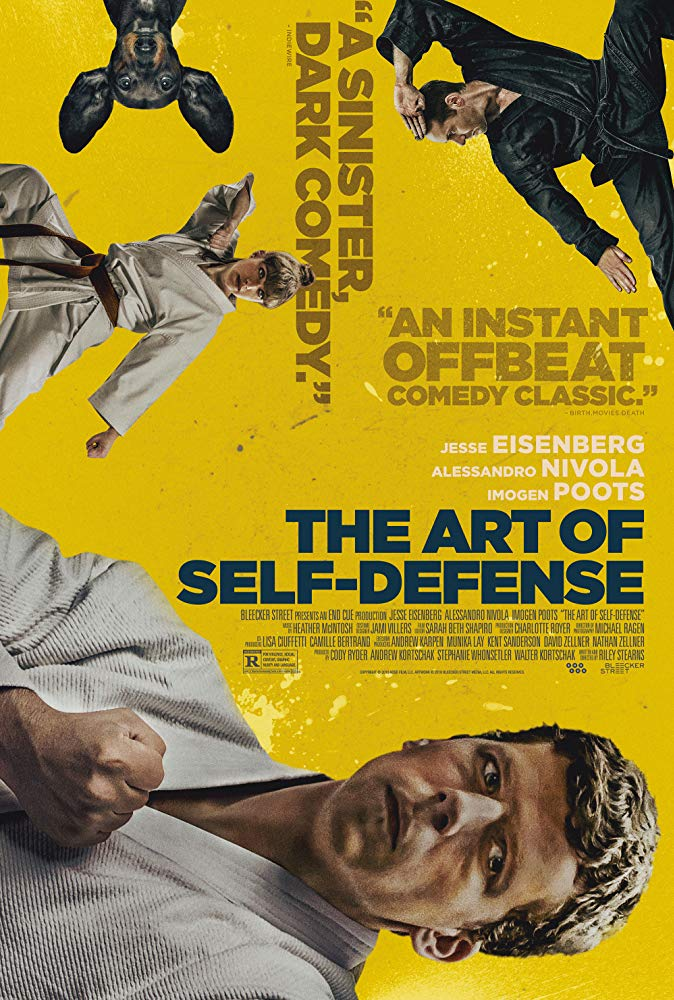 "Filmas ""Savigynos menas"" / ""The Art of Self-Defense"" (2019)"