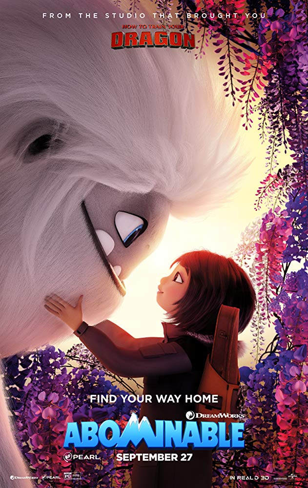 "Filmas ""Sniego vaikis"" / ""Abominable"" (2019)"