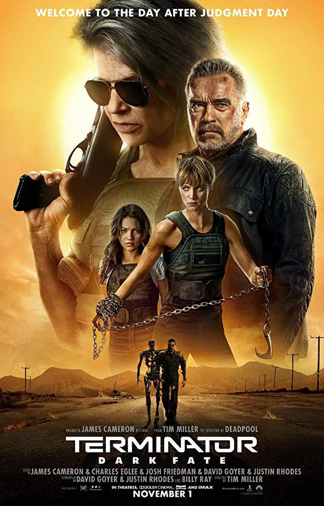 """Filmas """"Terminatorius: Tamsus likimas"""" / """"Terminator: Dark Fate"""" (2019)"""
