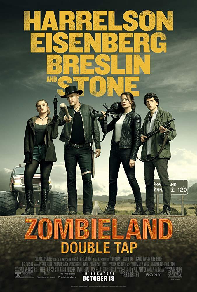 """Filmas """"Zombių žemė 2: Kontrolinis šūvis"""" / """"Zombieland: Double Tap"""" (2019)"""