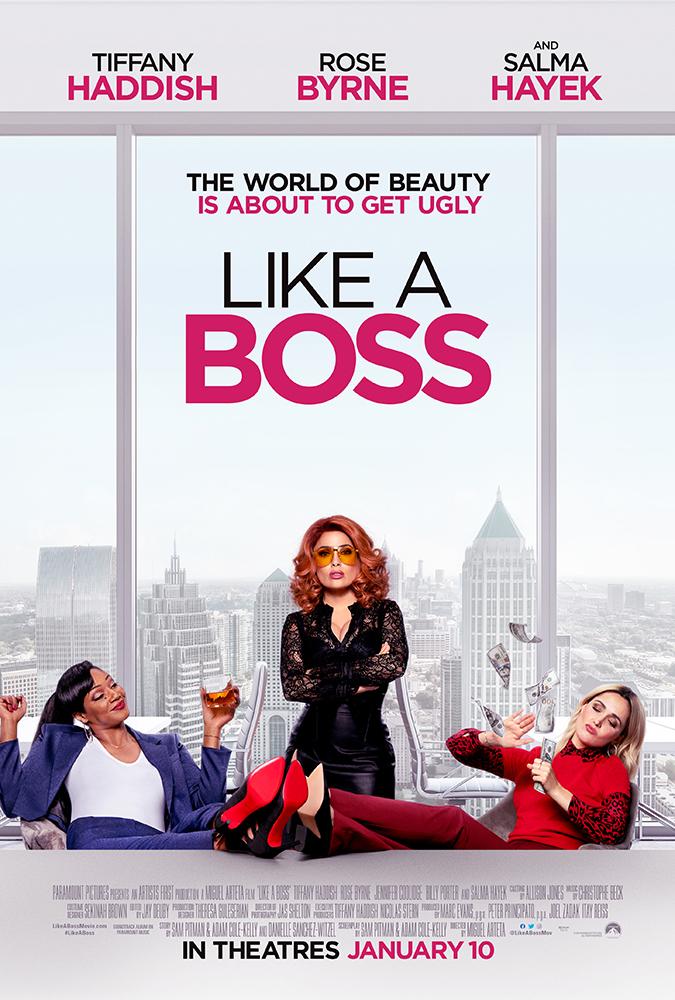 """Filmas """"Kaip Bosė"""" / """"Like A Boss"""" (2020)"""