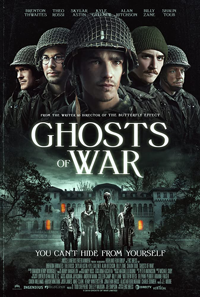 "Filmas ""Karo šmėklos"" / ""Ghosts of War"" (2020)"