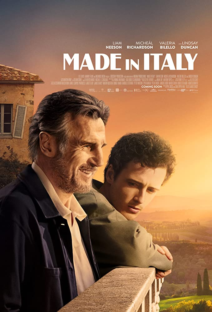 """Filmas """"Pagaminta Italijoje"""" / """"Made in Italy"""" (2020)"""