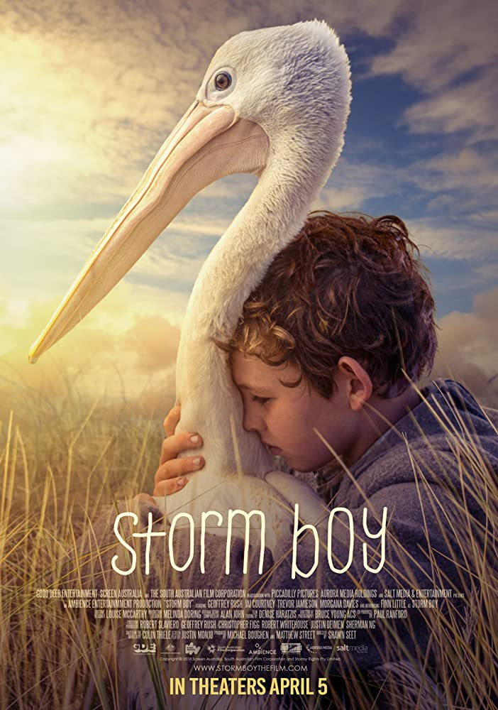 "Filmas ""Audros vaikas"" / ""Storm Boy"" (2019)"