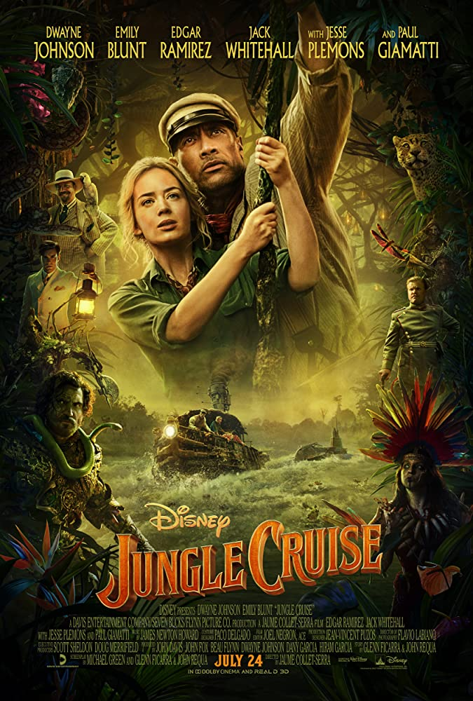 "Filmas ""Džiunglių kruizas"" / ""Jungle Cruise"" (2021)"