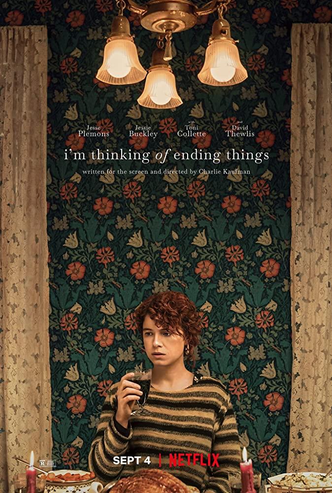 """Filmas """"Aš galvoju apie daiktų pabaigą"""" / """"I'm Thinking of Ending Things"""" (2020)"""