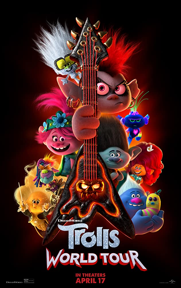 """Filmas """"Troliai 2: Pasaulinis turas"""" / """"Trolls World Tour"""" (2020)"""
