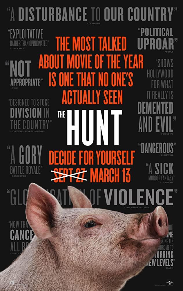"""Filmas """"Medžioklė"""" / """"The Hunt"""" (2020)"""