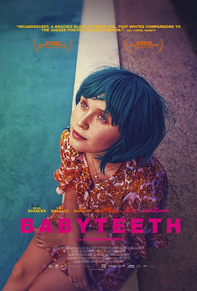 """Filmas """"Pieniniai dantys"""" / """"Babyteeth"""" (2020)"""