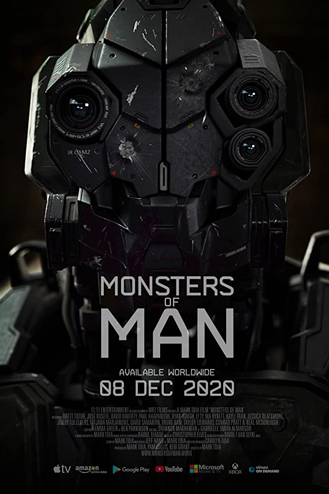 "Filmas ""Žmonių monstrai"" / ""Monsters of Man "" (2020)"